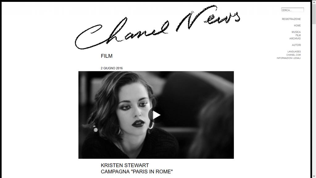 A lezione di Content: strategia Chanel